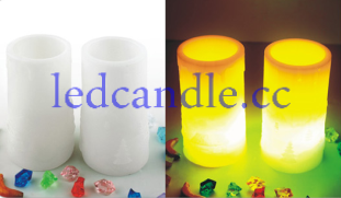1.This is LED electronic candle lights, it is very likely to real candle, but it use LED as lights source;