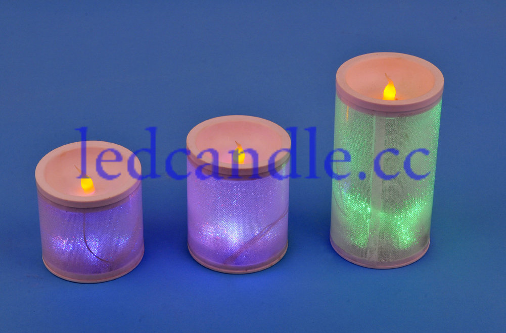 This is LED electronic candle lights, it is very likely to real candle, but it use LED as lights source;